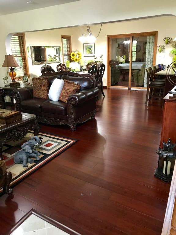 Cherry Flooring - Cognac Fossilized® Hardwood | Cali Bamboo ...