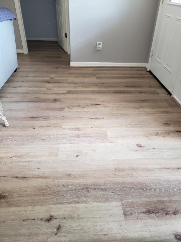 Aged Hickory Vinyl Waterproof Flooring