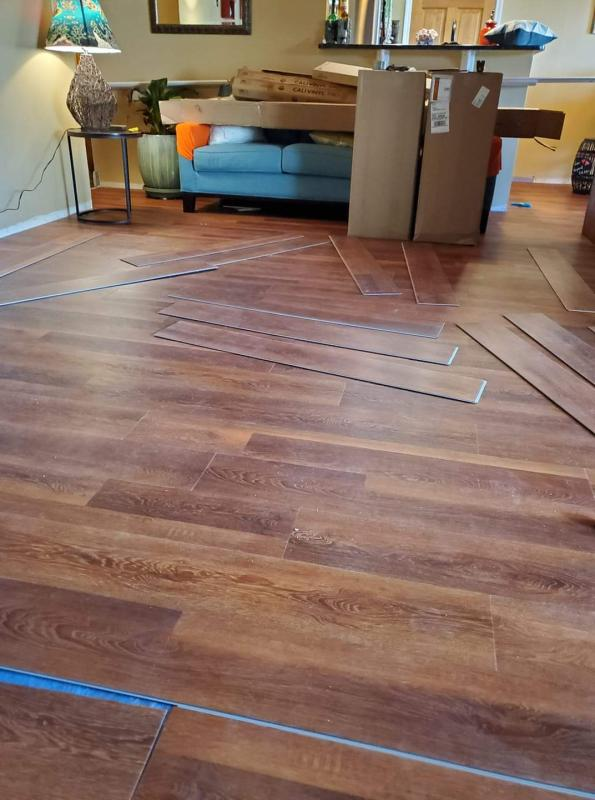 Saddlewood Vinyl Hardwood Flooring