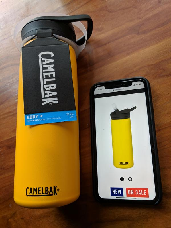 ade76ad558 Review photo 1. Originally posted on eddy®+ 32oz, Insulated Stainless Steel