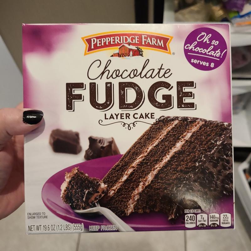 Dillons Food Stores Pepperidge Farm Chocolate Fudge Layer Cake 19 6 Oz