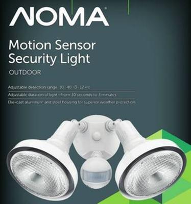 Noma halogen 180 motion sensor light canadian tire user submitted photo aloadofball Choice Image