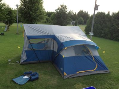 User submitted photo & Broadstone Cabin Tent 15-Person | Canadian Tire