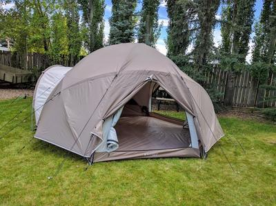 User submitted photo & Woods Expedition 4-Season Tundra Tent 6-Person | Canadian Tire