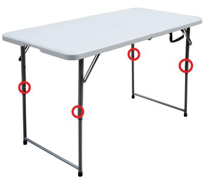 For Living Folding Table 4 Ft Canadian Tire