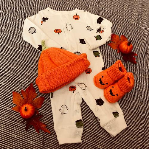 44fb15458b23 Halloween Snap-Up Cotton Sleep   Play
