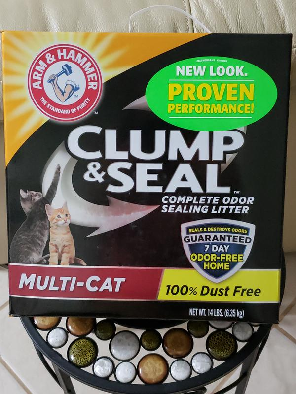 Arm Amp Hammer Clump Amp Seal Complete Odor Sealing Clumping