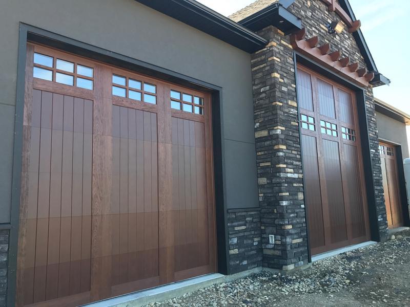 Faux Wood Garage Doors - Clopay® Canyon Ridge Photos & Reviews