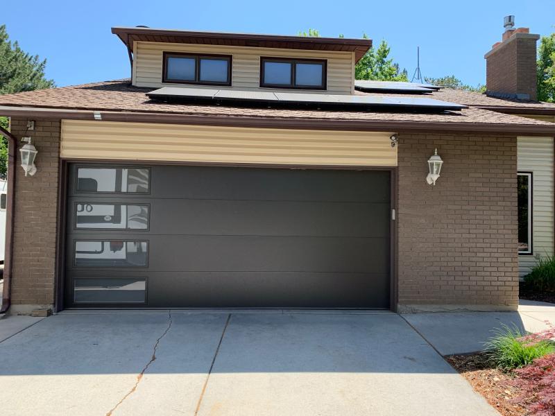 Modern Steel Garage Doors Clopay