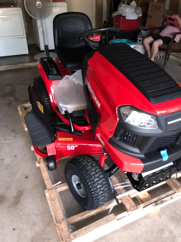 T260 50-in 23 0 HP Hydrostatic Riding Mower with Turn Tight