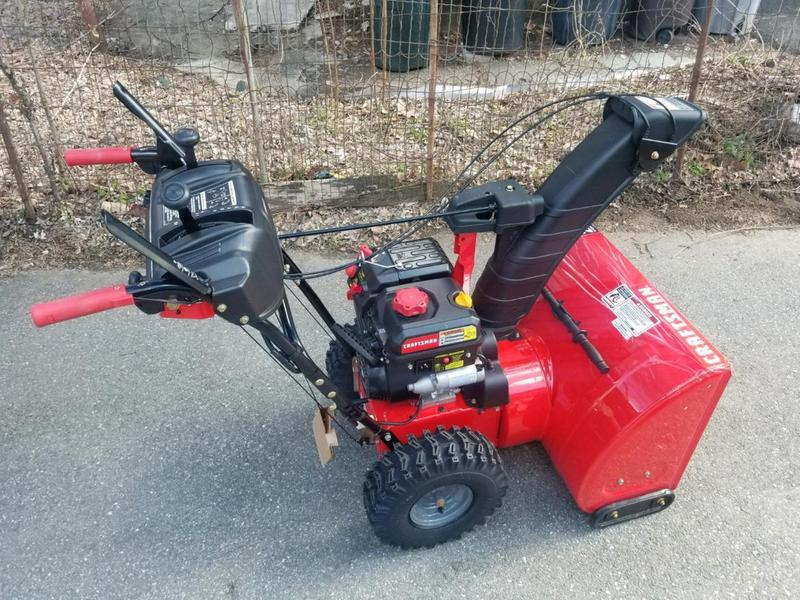 28-in  243cc Electric Start Two-Stage Snow Blower - CMXGBAM1054543