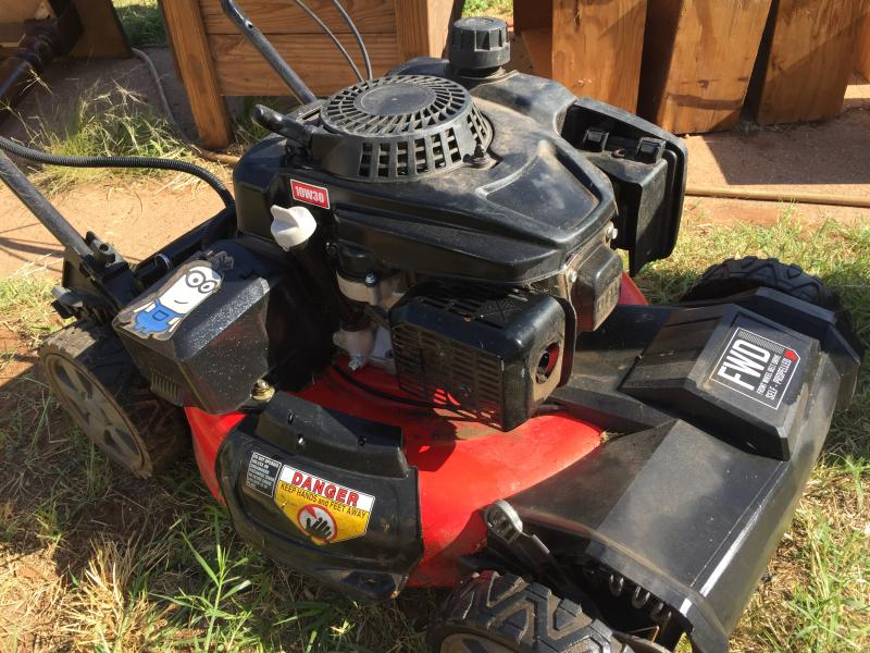 M270 21-in  159cc FWD Self-Propelled Mower with V20* Battery Start