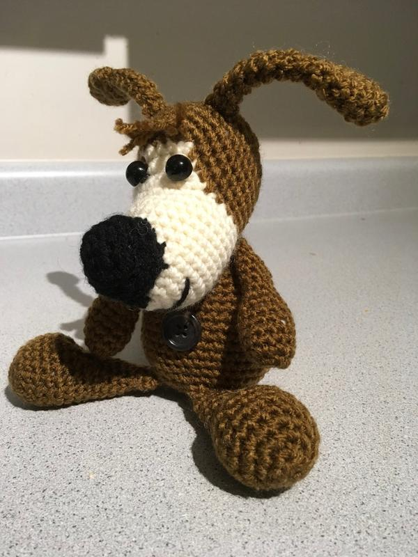 221 Crochet Pattern Buffy The Dog Amigurumi PDF file by   Etsy   800x600