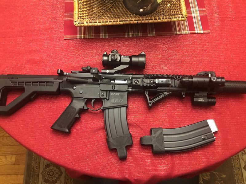 DPMS SBR Full Auto - Air Rifles - Airguns