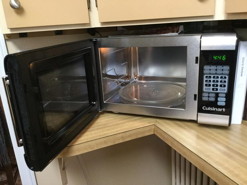 Stainless Steel Interior Microwave Oven Bestmicrowave