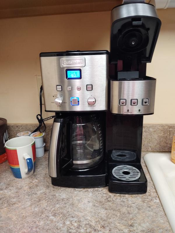 Cuisinart Cuisinart Coffee Center 12 Cup Coffeemaker And Single Serve Brewer
