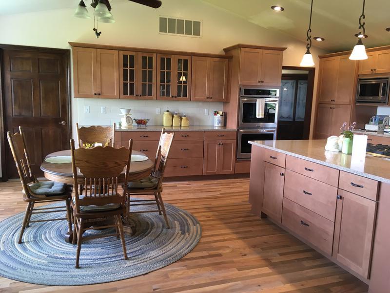 my new american woodmark kitchen  craftsman  u0026 shaker style cabinets   leesburg collection  rh   woodmarkcabinetry com