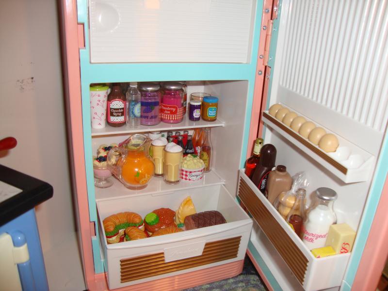 "American Girl MaryEllen Orange pop soda bottle refrigerator fridge 18/"" dolls NEW"