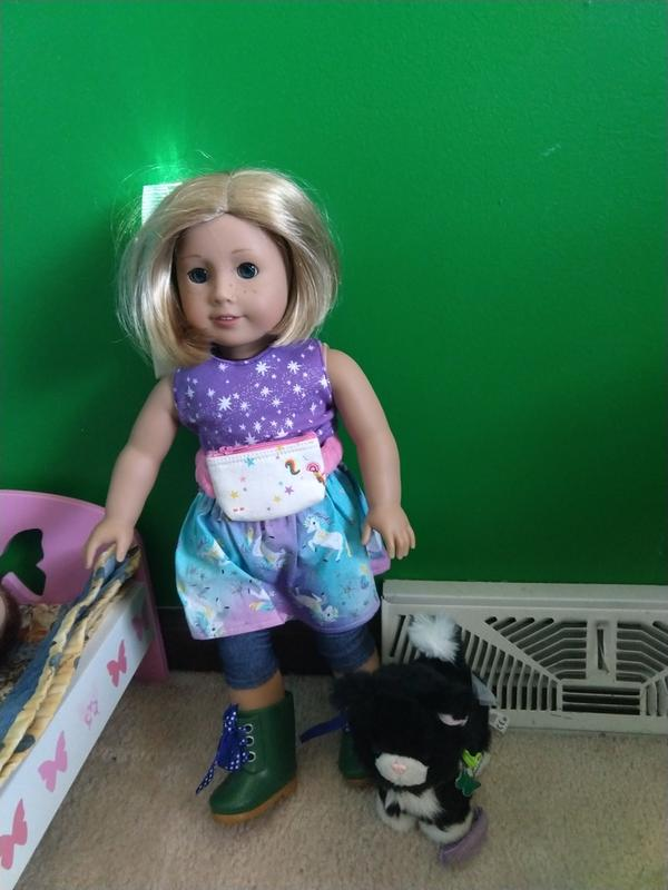 By Brand, Company, Character Dolls Realistic American Girl Doll Just Like You Licorice Cat And Halloween Accessories