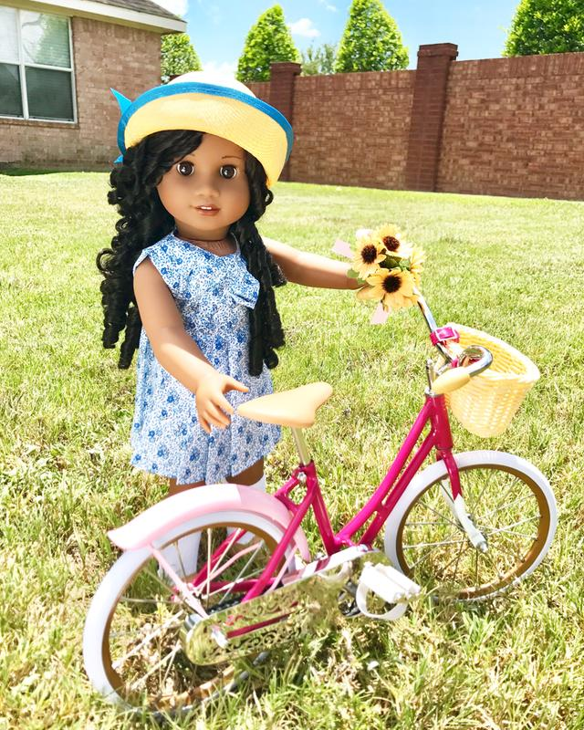 American Girl Doll Samantha/'s Bike Pink Bicycle NEW!!