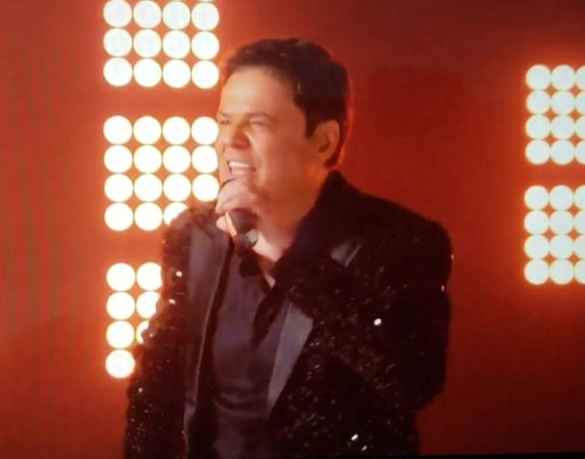 Donny Osmond Singing And Dancing