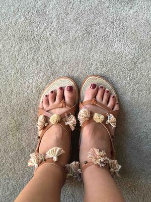 38e4a2fbcb91 Soludos x Anthropologie Panarea Leather Tasseled Sandals