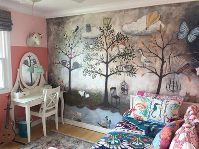 Enchanted Forest Mural