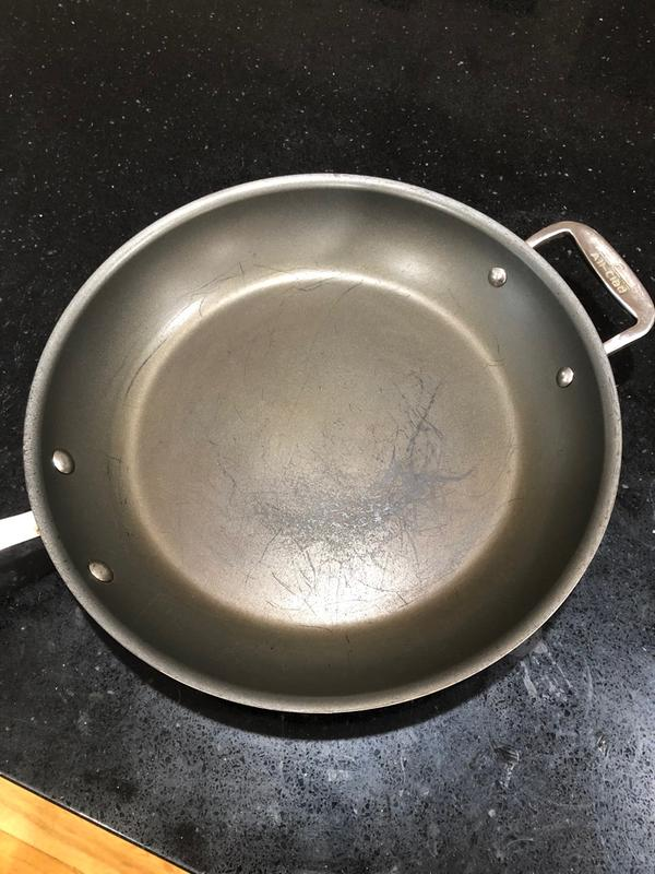 All Clad Copper Core 12 Nonstick Fry Pan 6112 Ss Ns R1