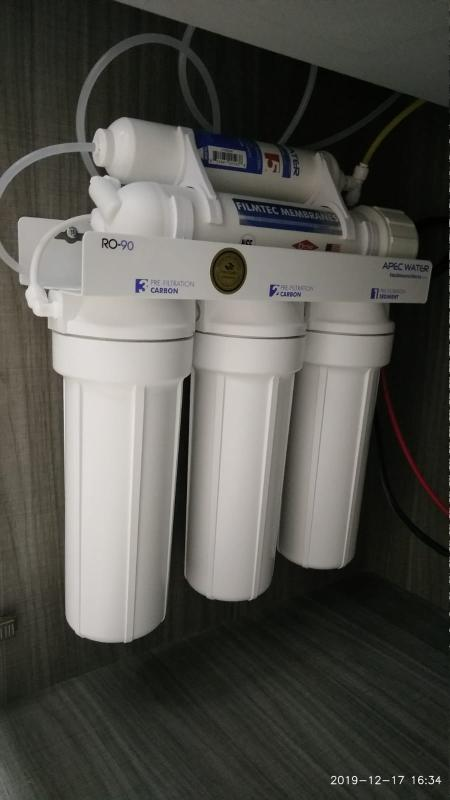 Roes 50 Essence Series 50gpd Under The Sink Reverse Osmosis Drinking Water Filtration Systems Apec Water
