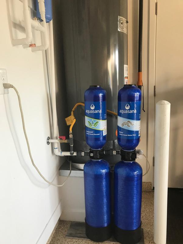 600K Gallon Rhino   Aquasana Whole House Water Filter System