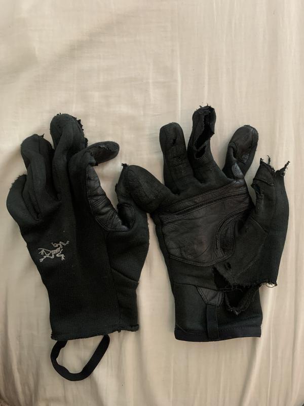 Black, Medium Arcteryx Rivet Glove