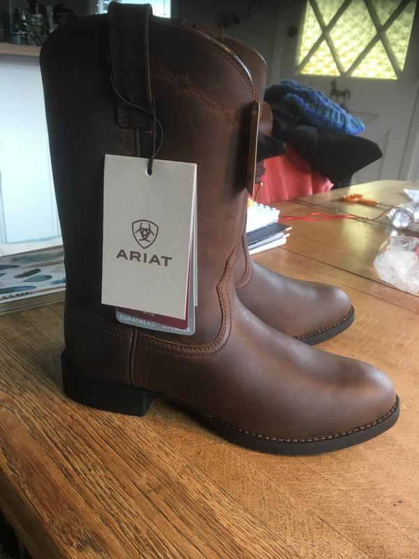 Ariat Mens Heritage Roper Western Cowboy Boot