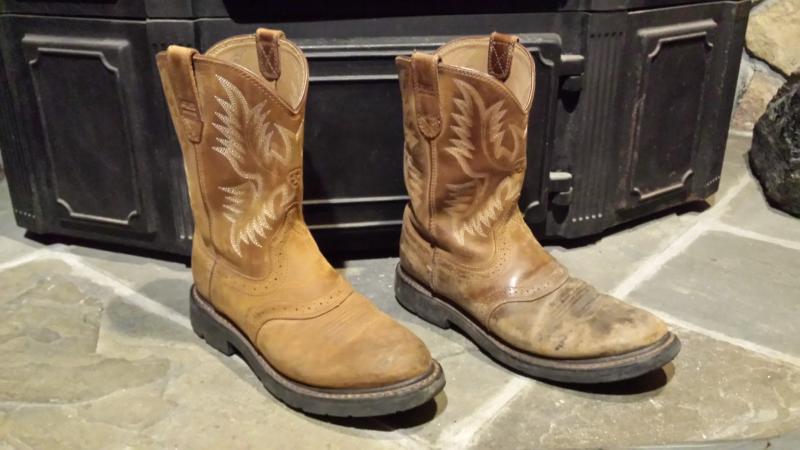 Ariat Mens Sierra Saddle Work Boot