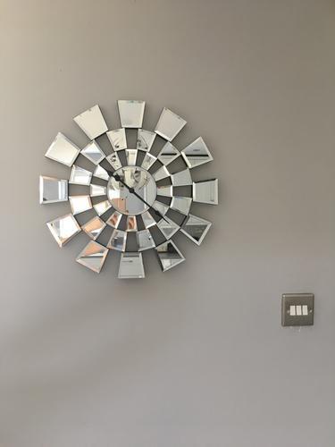 Lovely George Home Mirror Mosaic Clock | Home & Garden | George at ASDA UV91