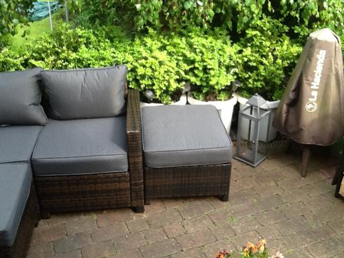 Customer Photos Of Jakarta Corner Group Sofa Linen