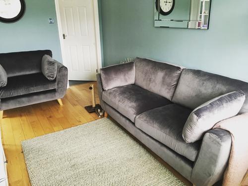 Customer photos of George Home Glynn Large Sofa