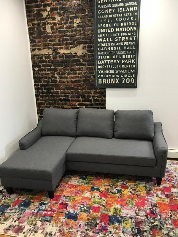 Couch. Originally Posted On Jarreau Sofa Chaise Sleeper