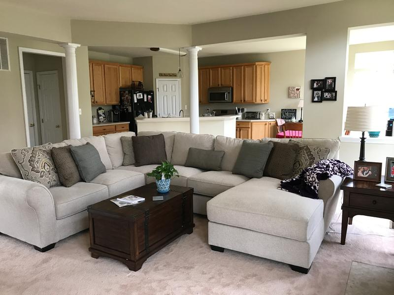 Wilcot 4 Piece Sectional With Chaise Ashley Furniture Homestore