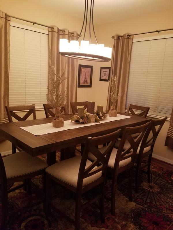 Astounding Moriville Counter Height Dining Room Table Ashley Ncnpc Chair Design For Home Ncnpcorg
