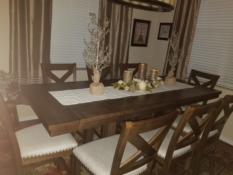 Superb Moriville Counter Height Dining Room Table Ashley Ncnpc Chair Design For Home Ncnpcorg