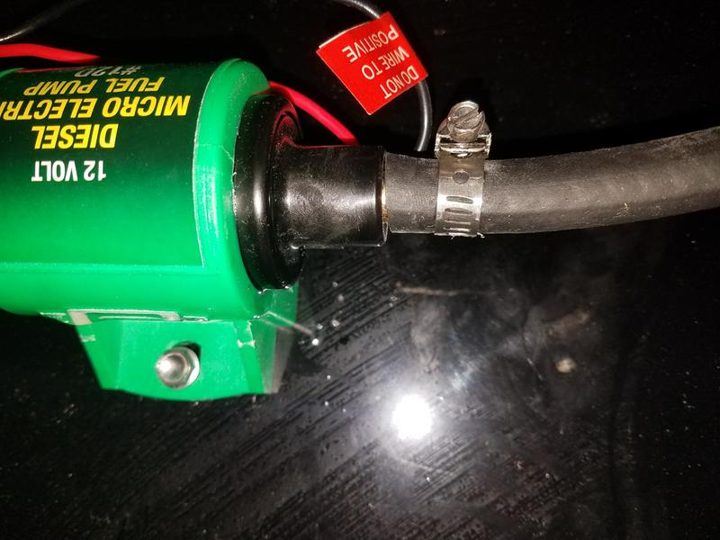 Mr  Gasket Electric diesel fuel pump