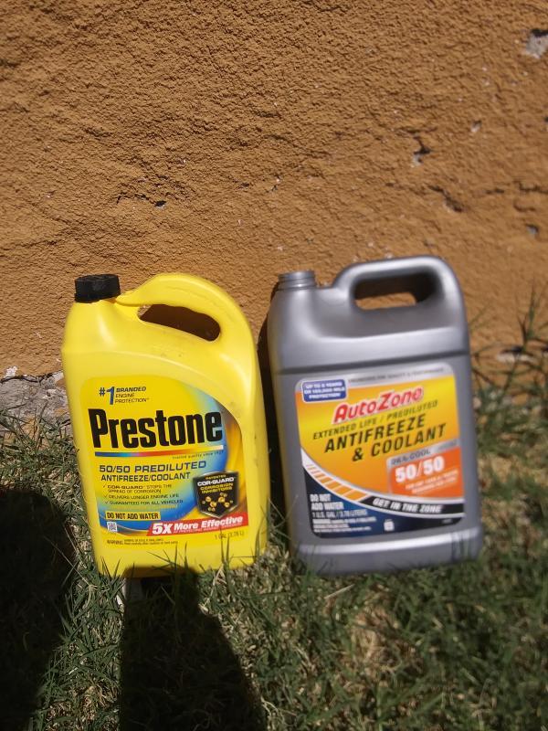 AutoZone 50/50 Dex-Cool Antifreeze and Coolant 1gal