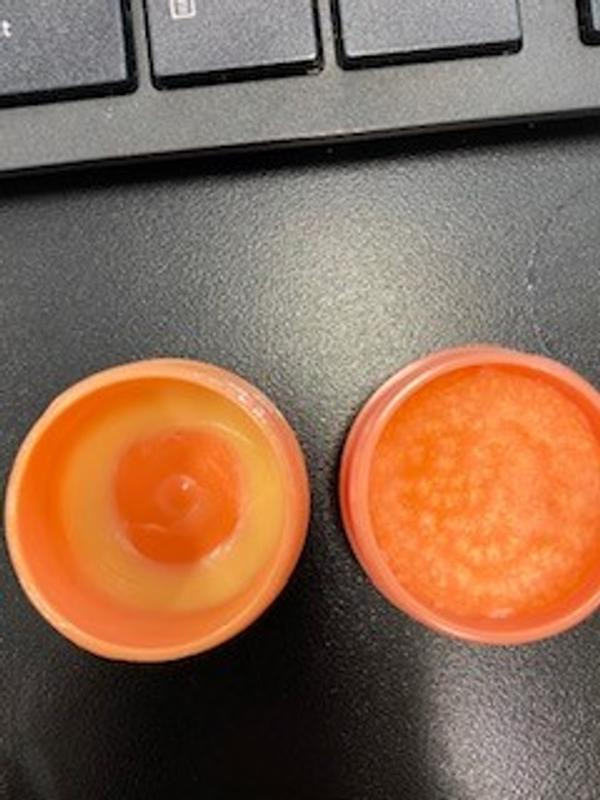 Left is original product.  Right is new product.