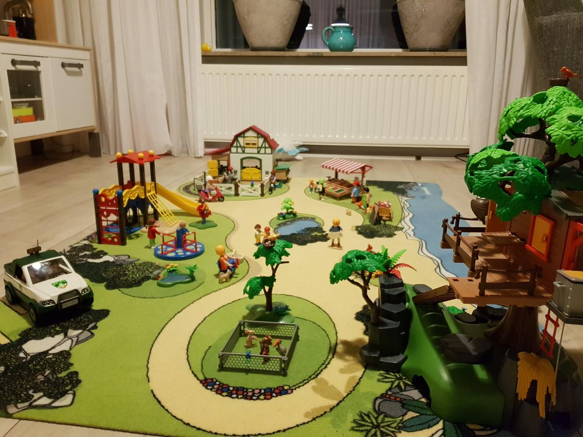 Bol Com Playmobil Playcarpet Speelkleed House