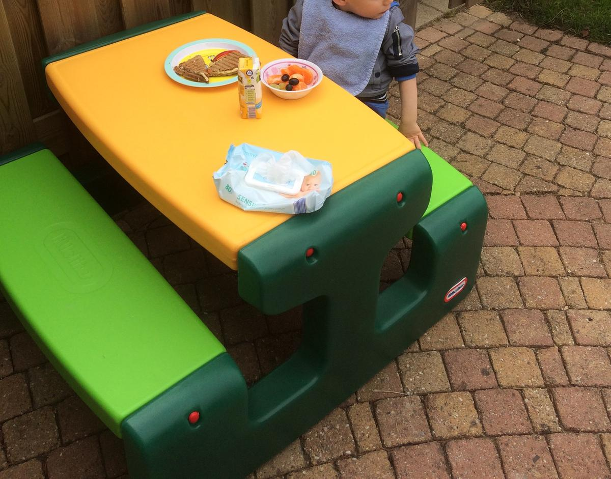 Picknicktafel Kinderen Little Tikes.Bol Com Little Tikes Primary Picknicktafel Groot Little Tikes
