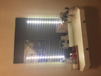 Bol.com vidaxl badkamerspiegel met led verlichting spiegel
