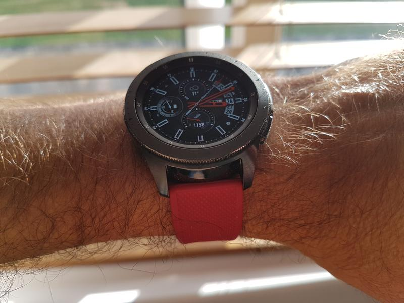 Gear S3 Classic & Frontier   Elite Silicone   Flatwater Blue
