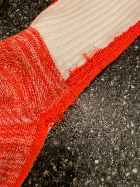 Scarlet L Evoshield Knee-High Moisture Wicking Baseball//Softball Game Socks