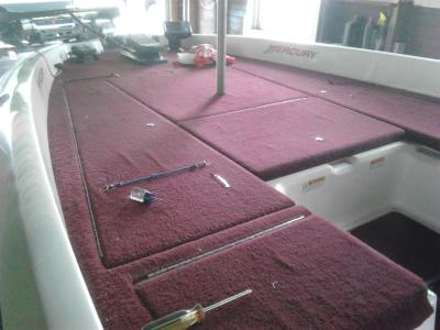 Boat Carpet Replacement Instructions