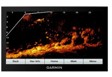 Garmin ECHOMAP Plus 73cv Chartplotter/Fishfinder Combo